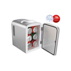 Rosenstein & Söhne Mini réfrigérateur 2 en 1 avec prise 12 / 230 V - Gris - Publicité