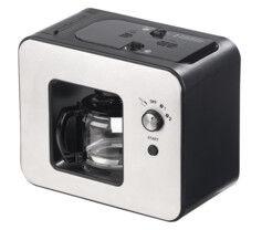 Rosenstein & Söhne Machine à café automatique design 800 W avec moulin à grains KF-506