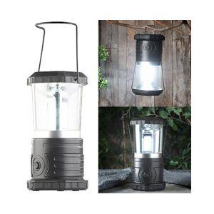 Lunartec Lanterne de camping avec LED COB, 4niveaux de luminosité, 750lm, 9W, IP44 - Publicité