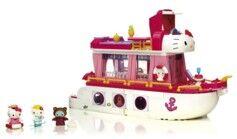 Mega Bloks Jeu de construction Hello Kitty Mega Bloks - Bateau de croisière