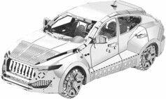 Playtastic Maquette 3D en métal : Voiture - 49 pièces