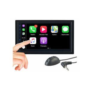 CreaSono Autoradio 2DIN tactile avec fonction mains libres CAS-5025.acp - Publicité