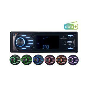 CreaSono Autoradio MP3 / DAB+ avec fonctions bluetooth et mains libres, 4x 45W CAS-4545.bt - Publicité
