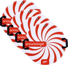 4 disques-luges Snow Boogie Air Disc Ø 63 cm