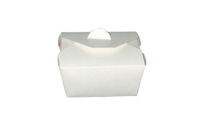 Boîte repas blanc 13x10x6 cm ECO