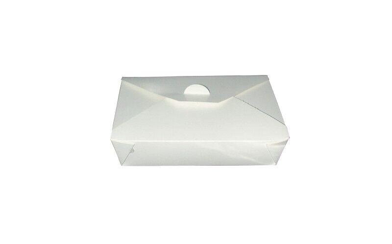 Boite repas blanche 21x16x6cm