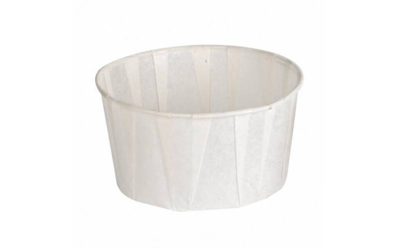 Pot papier plissé 165 ml