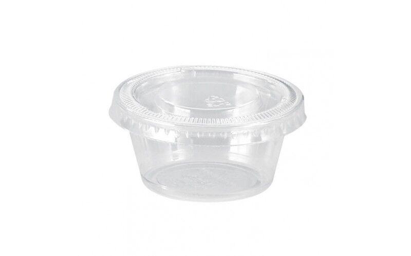 Pot plastique 20 ml + couvercle