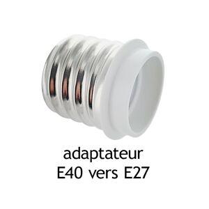 Vision-EL Adaptateur culot E40 vers E27 - Publicité