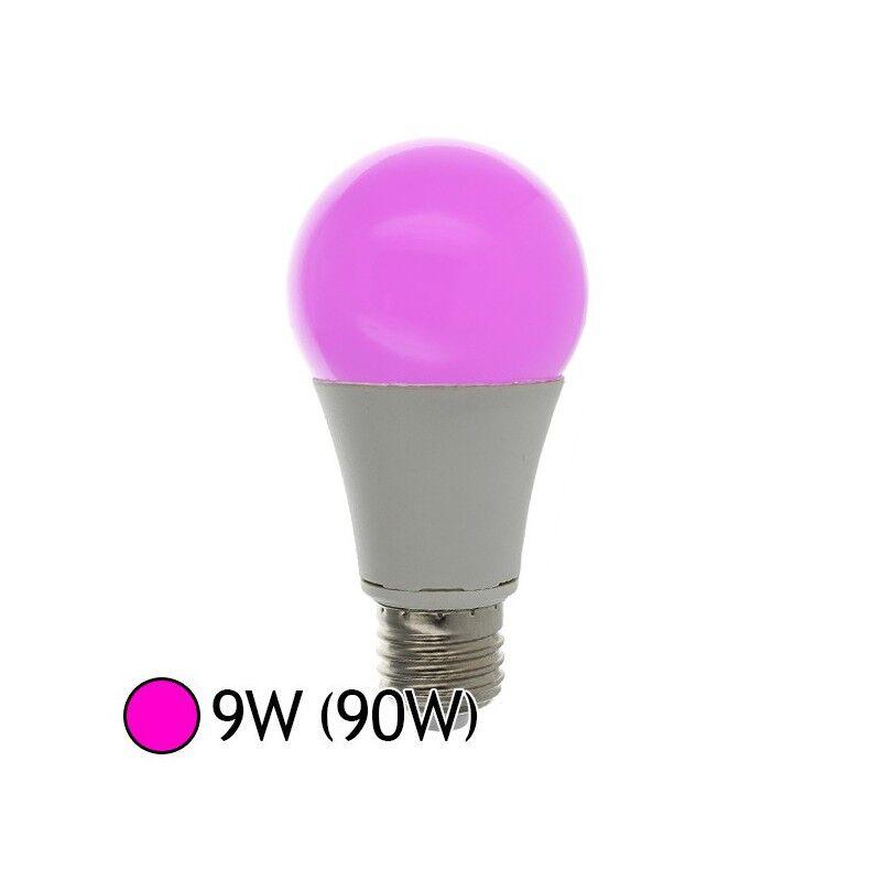Vision-EL Ampoule Led Rose 9W (90W) E27 Bulb coloré