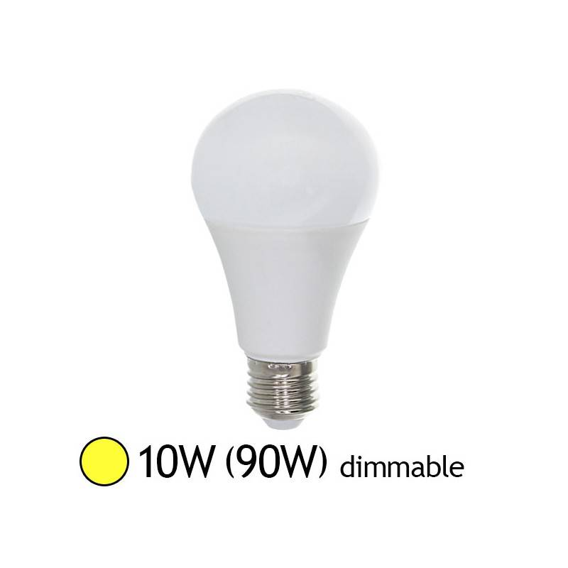 Vision-EL Led 10W (90W) Dimmable E27 Blanc chaud