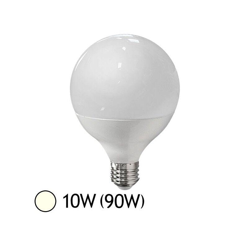 Vision-EL Ampoule LED 10W (90W) E27 Globe Blanc jour 4000°K