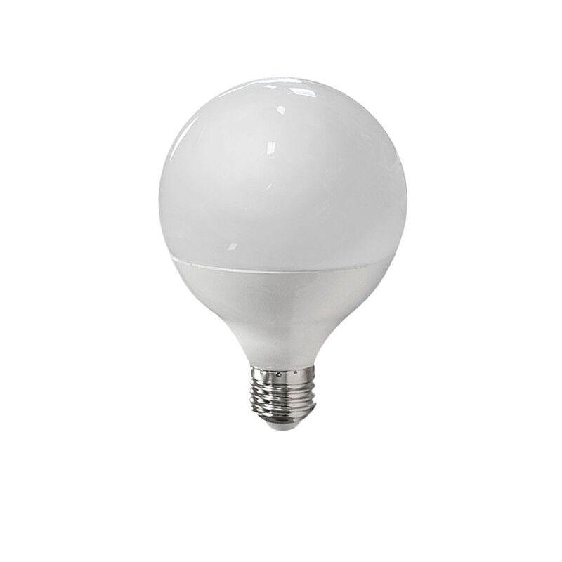 Vision-EL Ampoule LED 10W (90W) E27 Globe opale Blanc chaud 3000°K