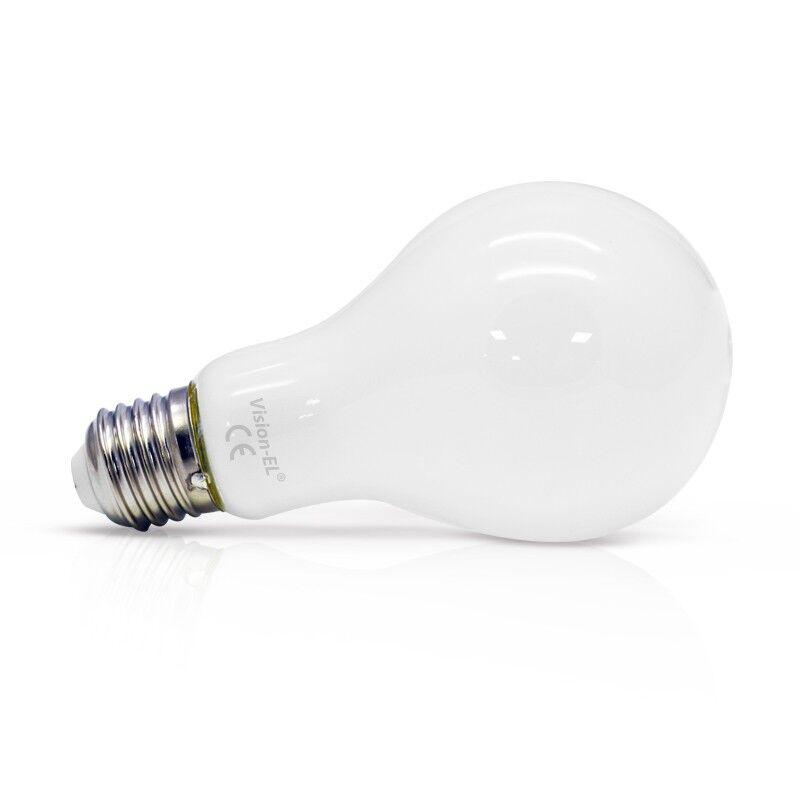 Vision-EL Ampoule Led 10W (90W) E27 Blanc chaud 2700°K Bulb dépoli