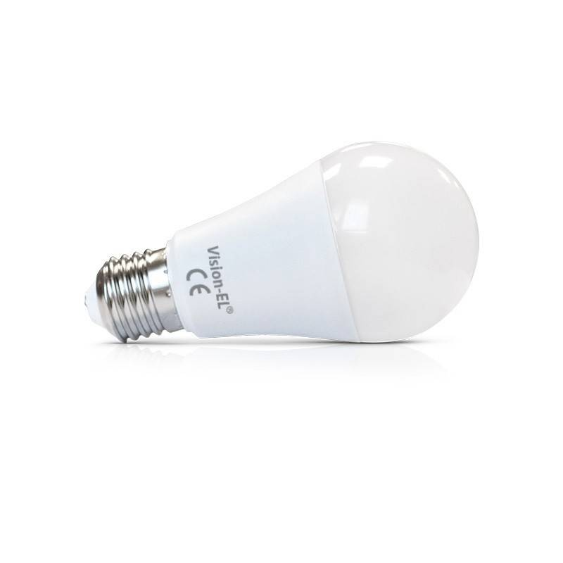 Vision-EL Led 10W (90W) Dimmable E27 Blanc chaud 2700