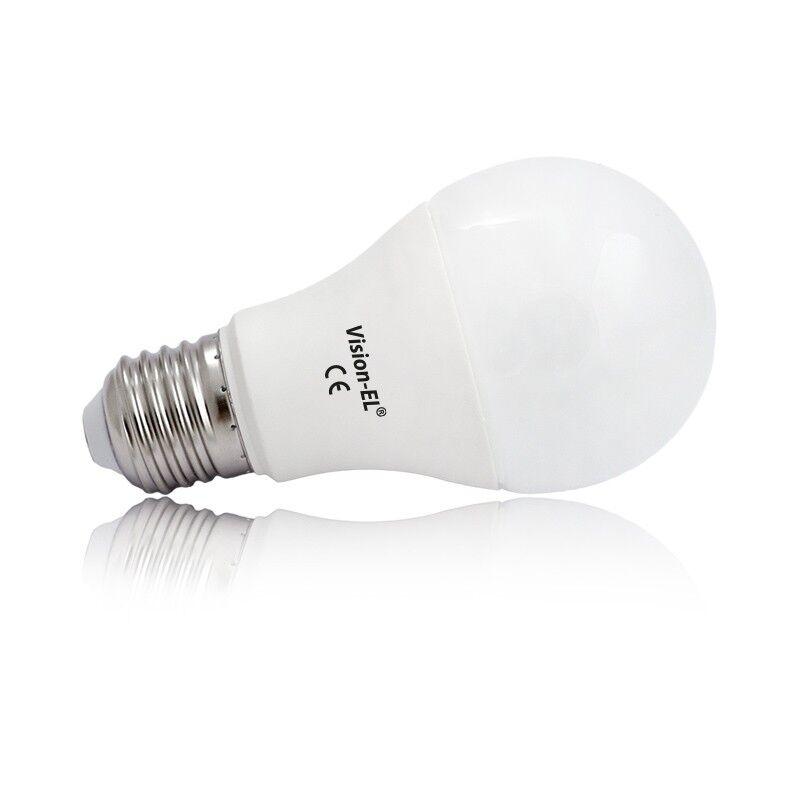 Vision-EL Ampoule Led 10W (90W) E27 Dimmable Blanc chaud 2700°K 880 lumens Opale