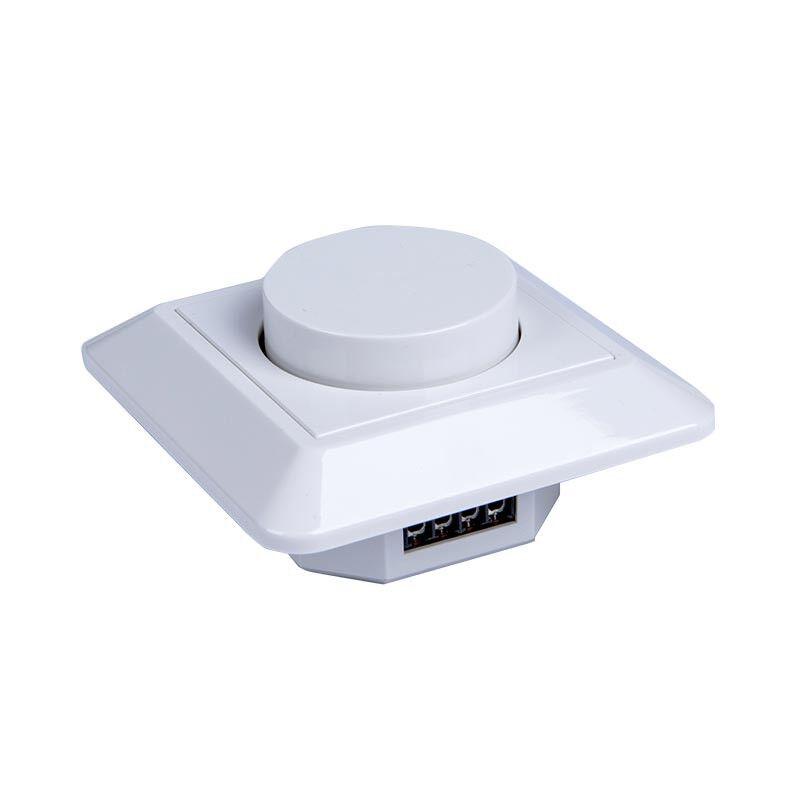 Vision-EL Variateur va-et-vient rotatif 230 VAC 10-350W encastrable spécial LED
