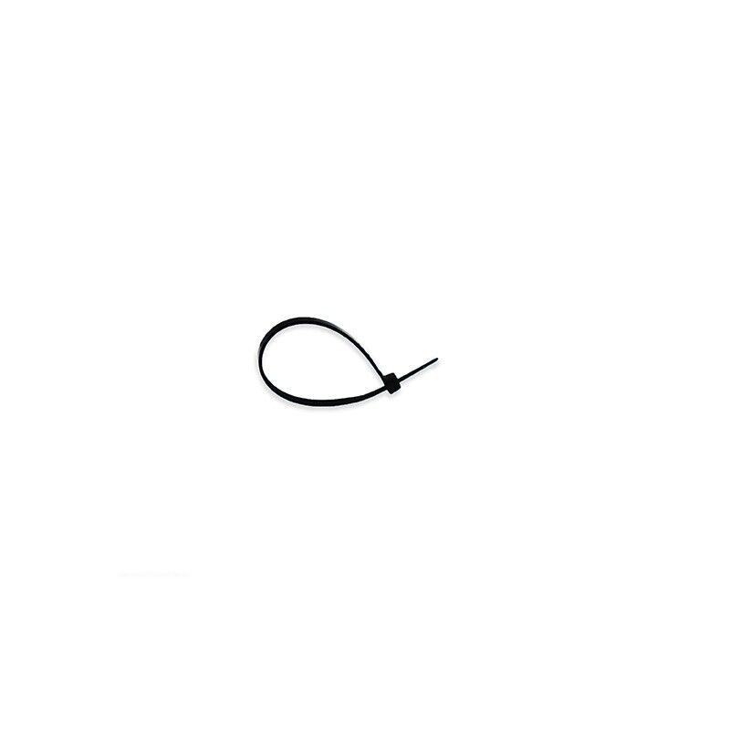 Vision-EL Collier de serrage 2,5 x 100 mm Nylon noir (lot de 100)