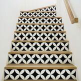 Ambiance-sticker Stickers escalier Alvaro x 2
