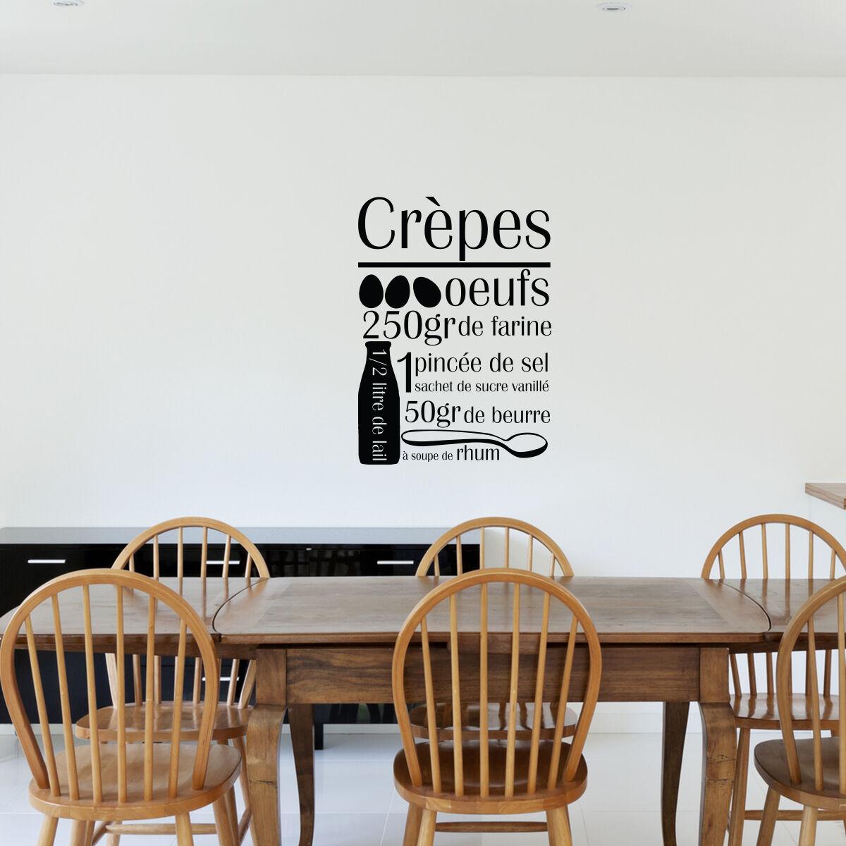 Ambiance-sticker Sticker cuisine recette Crèpes