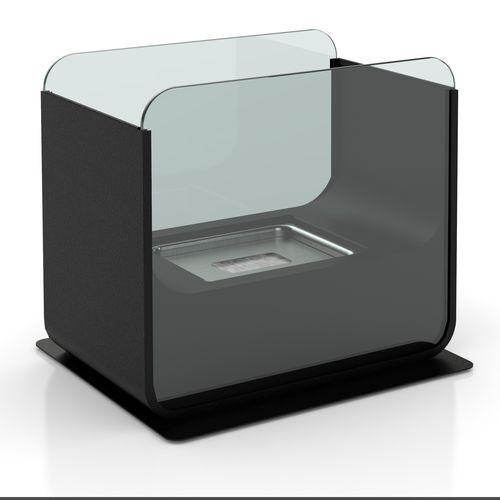 Tristar Cheminée de table rectangulaire au Bio-éthanol - 26 x 21 cm