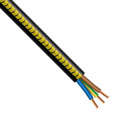 Non communiqué Câble électrique R2V 3G2.5mm² M/B/VJ - Prix au mètre