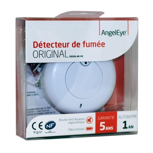 Angel Eye ANGELEYE Original Détecteur avertisseur autonome de fumée - autonomie 1 an - garantie 5 ans - Angel Eye