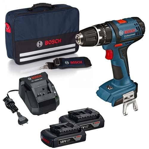 Bosch Perceuse visseuse à percussion sans fil 18V + 2 batteries 1,5Ah - 0615990K45 - Bosch