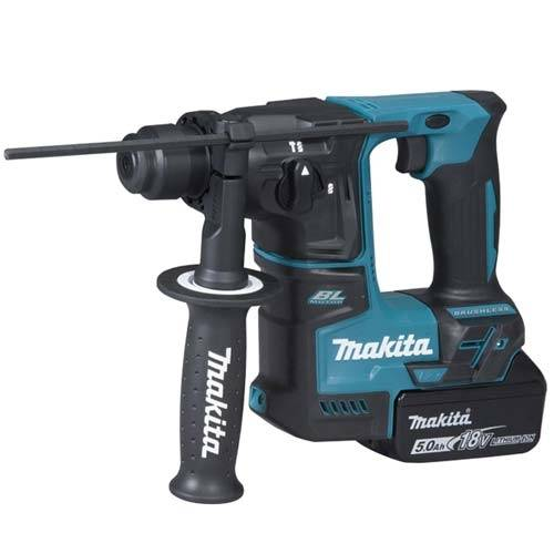 MAKITA Marteau perforateur SDS+ sans fil 18V avec 2 batteries 5Ah - DHR171RTJ - Makita