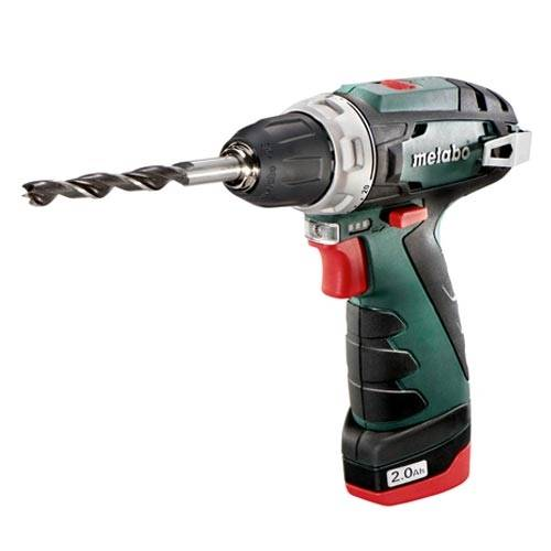 METABO Perceuse Visseuse sans fil 10,8V avec 2 batteries 2Ah - 600080500 - Metabo