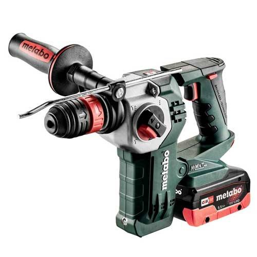 METABO Marteau perforateur burineur sans fil 18V 4Ah + 5,5Ah KHA 18 LTX BL 24 Quick - 600211540 - Metabo