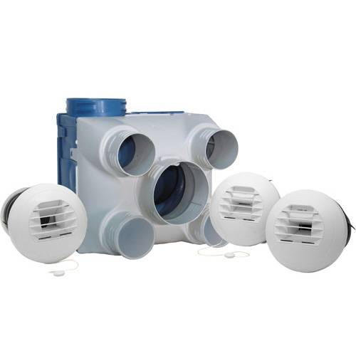 DMO Kit VMC simple flux hygroréglable type A - 94005 - DMO