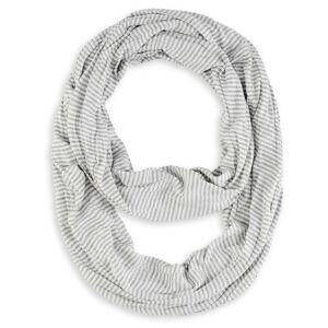 Allée du foulard Foulard tube Rayures GRIS - Publicité
