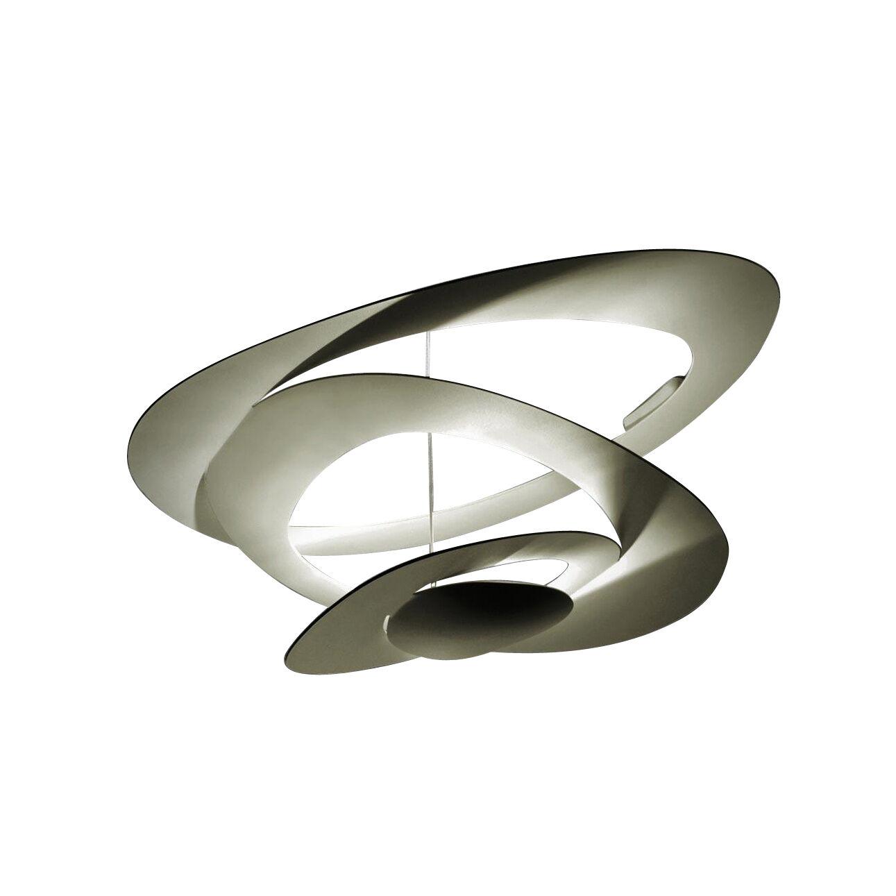 Artemide Pirce LED - Plafonnier - or/dimmable Push/H 44cm/Ø 97cm/3000K/3313lm/CRI=90
