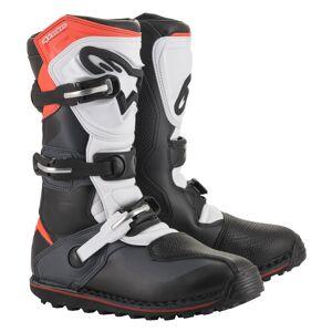 Alpinestars Bottes enduro Alpinestars Tech-T noir gris rouge - Publicité