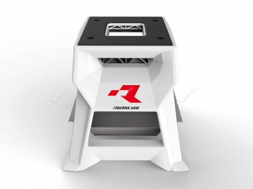Racetech Lève moto R-TECH TT R15 blanc