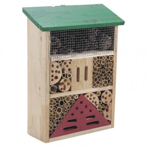 Lubéron Apiculture Hôtel à insectes bois 36 cm