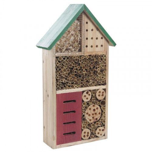 Lubéron Apiculture Hôtel à insectes bois 49 cm