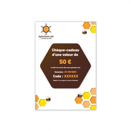 Lubéron Apiculture Chèque-cadeau 50