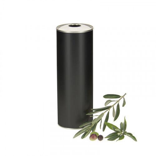 Lubéron Apiculture 20 bidons metal noir pour huile d'olive 50cl