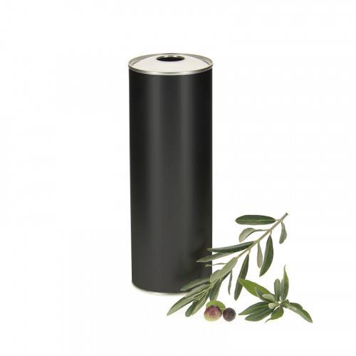 Lubéron Apiculture 20 bidons metal noir pour huile d'olive 75cl