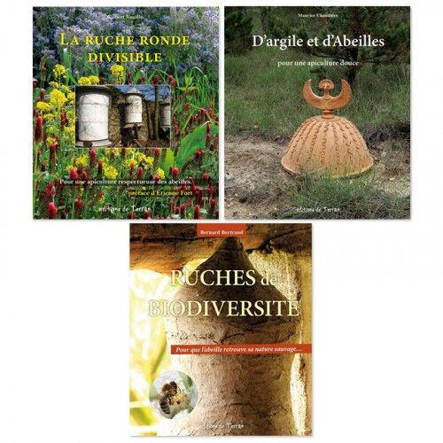 Lubéron Apiculture 3 livres sur l'apiculture écologique