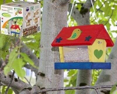 Mangeoire à oiseaux décoratif pour enfants