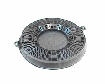 Whirlpool Filtre charbon rond hotte WHIRLPOOL FOR IKEA