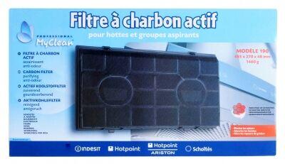 Filtre à charbon actif pour hotte aspirante WHIRLPOOL FOR IKEA