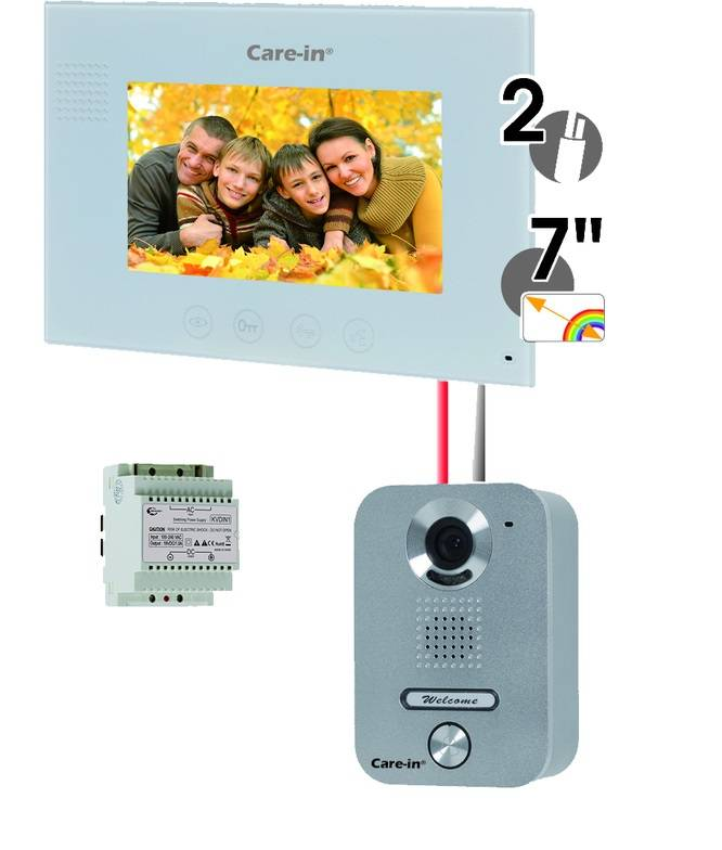 SEWOSY KVA1 KIT VILLA CARE-IN INTERPHONE VIDEO EN APPLIQUE SEWOSY - SEWOSY