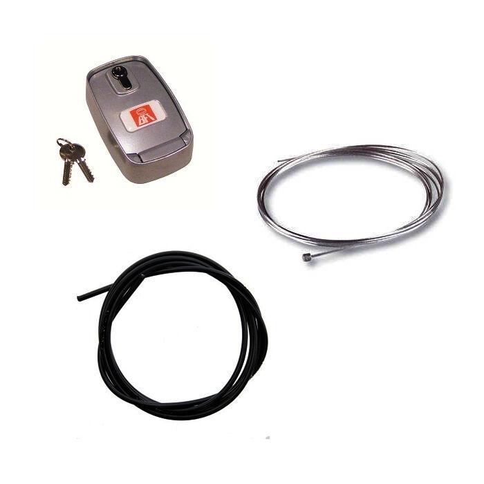 BFT PACK Déverrouillage BOX avec câble et gaine BFT - BFT