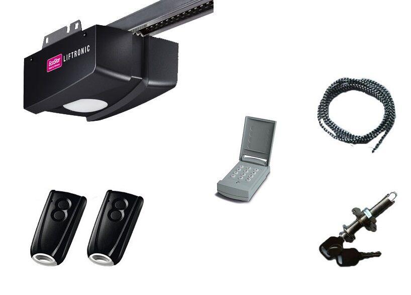ECOSTAR PACK LIFTRONIC 500 avec digicode, 2 télécommandes et déverrouillage extérieur ECOSTAR - ECOSTAR
