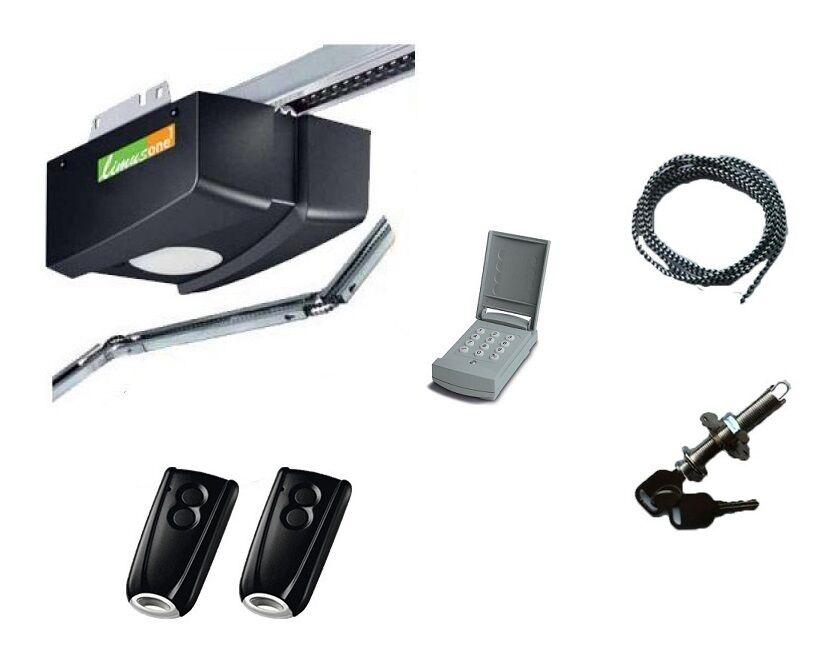 LIMUS ONE PACK LIMUS ONE G50 avec digicode 2 télécommandes et déverrouillage extérieur - LIMUS ONE