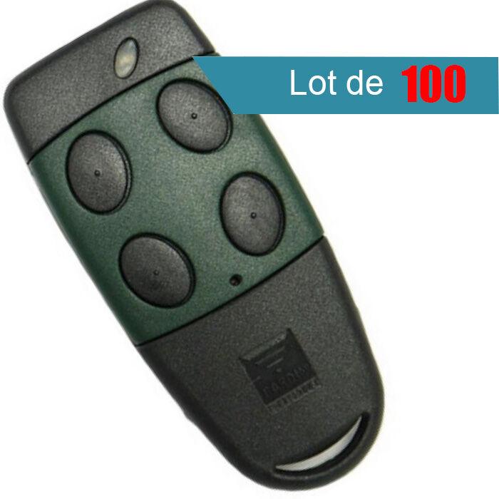 CARDIN Télécommande CARDIN S449TX4 et S449 QZ4 433 MHZ Pack de 100 - CARDIN